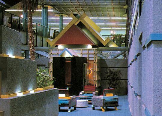 TV Am Studios London 1983 Terry Farrell Shift Suite Vintage Decor Interior ArchitectureDesign InteriorsTerry OquinnArt DecoTumblr