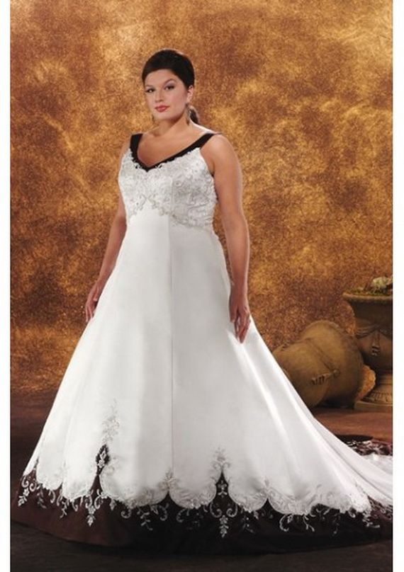 Garden Plus Size Wedding Dress Fashion Dresses