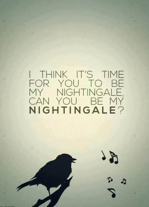 You can be my sanity! Bring me peace! sing me to sleep! Say you'll be my... | Nightingale - Demi Lovato