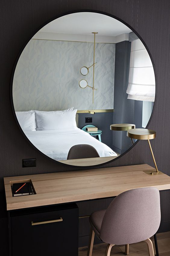 Best 25 modern hotel room ideas on pinterest modern for Miroir design rond