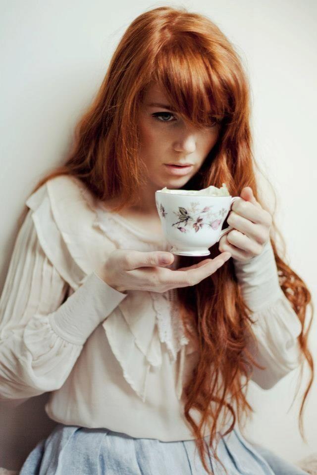 Bangs and long red hair <3 (Ailera Stone Photography)
