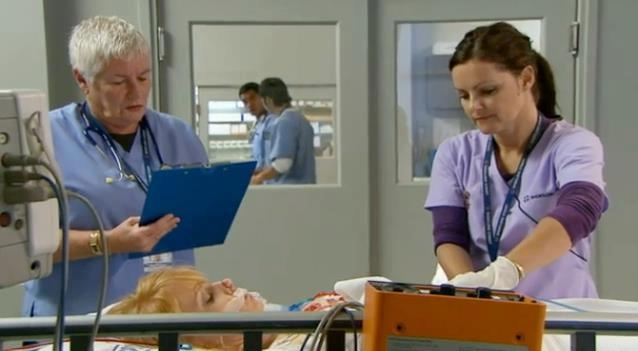 Mary and Angel working their magic on Shortland Street