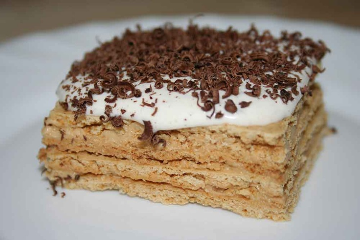 Romanian Food.. Prajitura cu crema de caramel