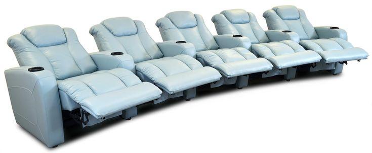 Avion Home Theater ‹‹ The Leather Sofa Company