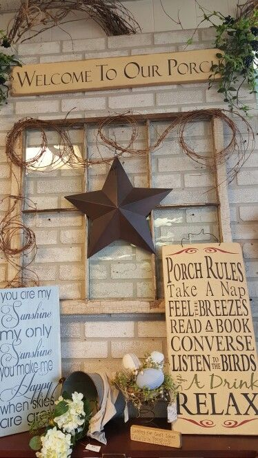 Best 25 porch rules sign ideas on pinterest for Anne marie witmeur decoration