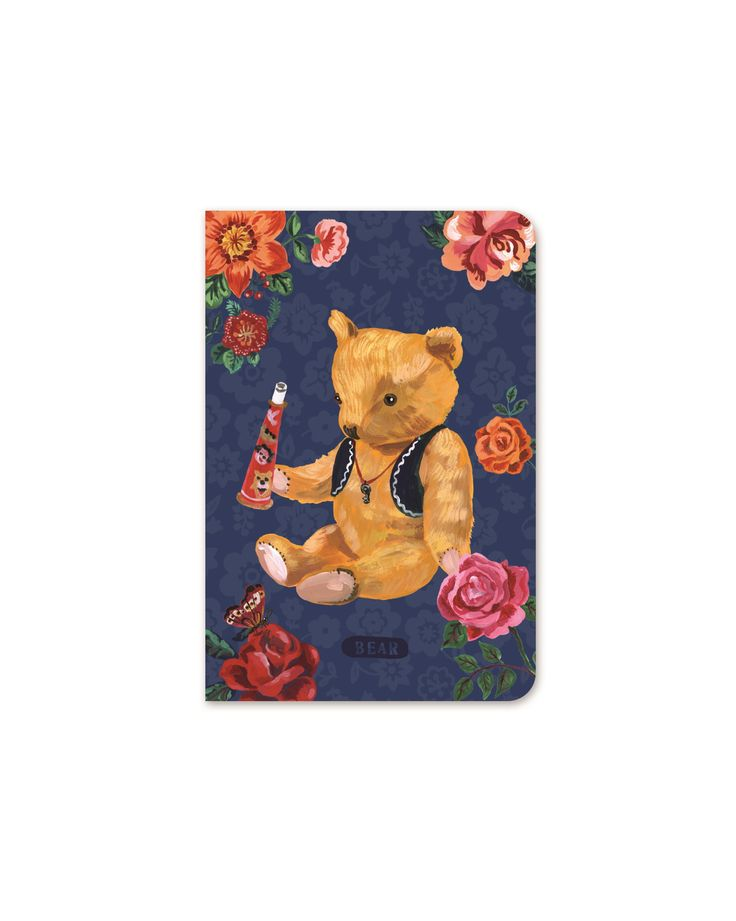Stitch Line Note Pocket - Nathalie Lete - 7321 DESIGN