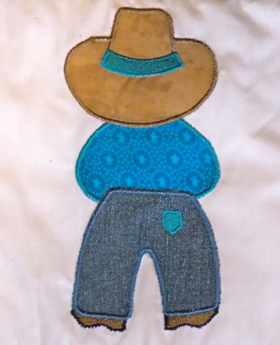 Cowboy Up Cowboy Sam Appliqué SET 5x7 Machine by KLMx2adventures