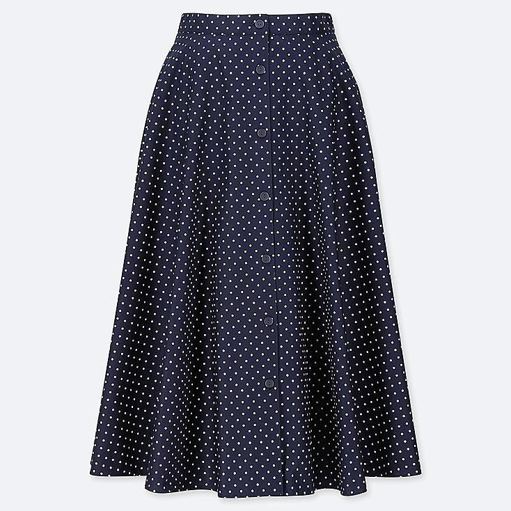 340f9fde7 Women front button circular skirt | Wardrobe | Skirts, Button skirt ...