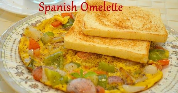 Spanish Omelette, Healthy breakfast recipes, breakfast recipes, starter recipes, kids recipes