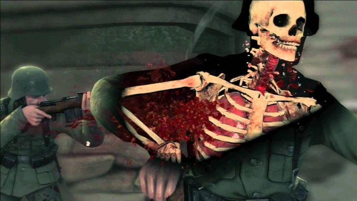 Sniper Elite V2-X-Ray & Trick Shots!
