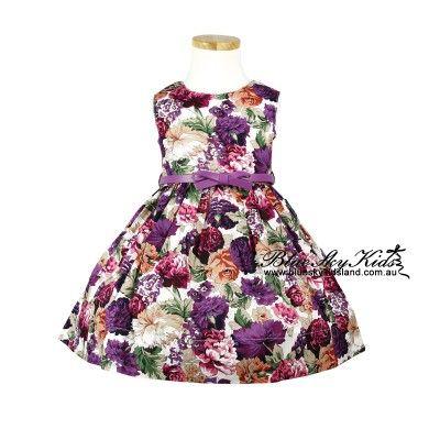 Dress with Belt QSDS627MRO  3Y~16Y