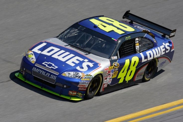 Jimmie Johnson...my favorite NASCAR driver
