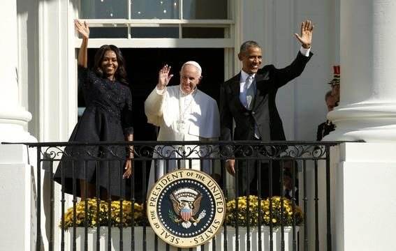Pope Francis at White House - Pope Francis in America - Pictures - CBS News
