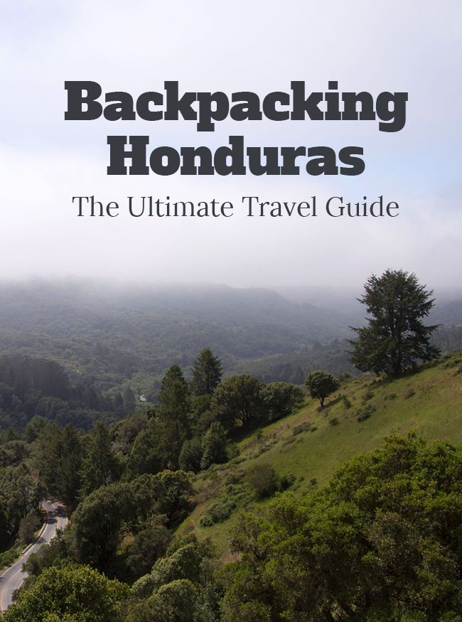 Don't let the bad reputation of Honduras stop you from visiting. Honduras is a beautiful country with lots of (cheap) things to. Read more about it in our post.