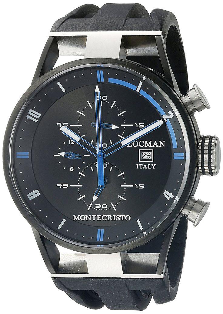 #LocmanItaly Men's 0510KNBKFBL0GOK Montecristo Classic #Chronograph #Watch   #MenAccessories