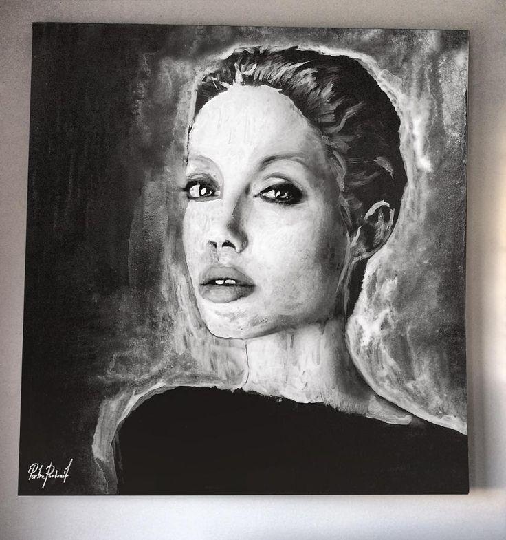 @portre.portrait   #artwork #fineart #draw #drawing #portrait #portraitart #portre #artdrawing #artofdrawing #angelinajolie
