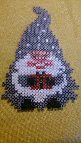 Nisse Christmas hama perler beads by Susanne Damgård Sørensen