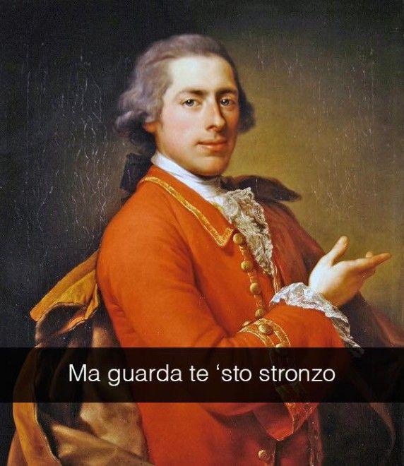 Se i quadri potessero parlare Ritratto di Francis William Skipwith - Anton Von Maron 1766