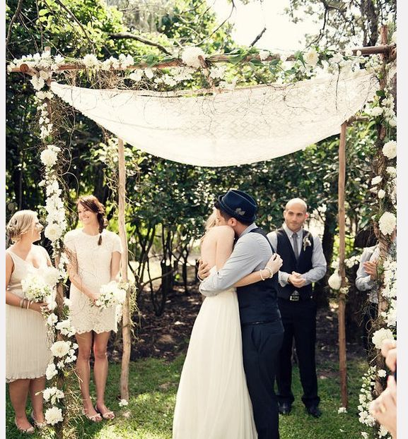 Simple Outdoor Wedding Ideas: 17+ Best Images About A Chuppah Festival On Pinterest