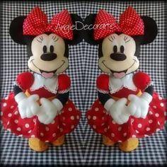 Minie e Mickey com molde