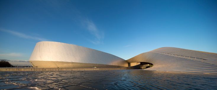 TOP 10 cultural institutions of 2013 - blue planet aquarium by 3XN in copenhagen, denmark