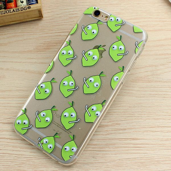 Funny Soft TPU 3D Cute Cartoon Eye Move Big Mouth Donut Cactus Popcorn Phone Case For iPhone 7 Plus 6 6s SE 5 5S Plus Cover Back