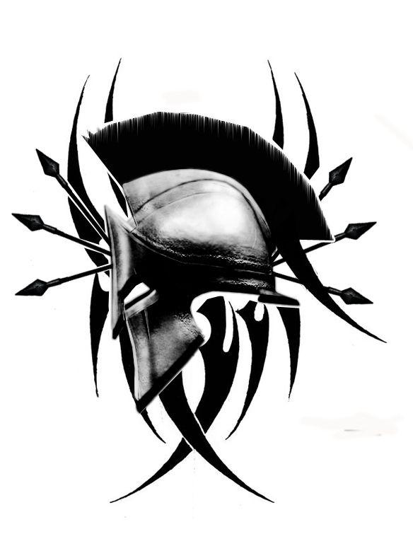 Spartan tribal art