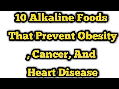 10 Alkaline Foods That Prevent Obesity, Cancer, And Heart Disease - WATCH THE VIDEO.    *** how to prevent cancer disease ***   Alkaline Foods That Prevent Obesity, Cancer, And Heart Disease Video credits to the YouTube channel owner