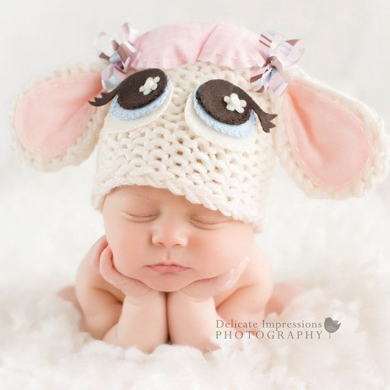 Baby+Lamb+Hat++Easter+Hat++Photography+Prop++by+whimsylaneboutique,+$25.00