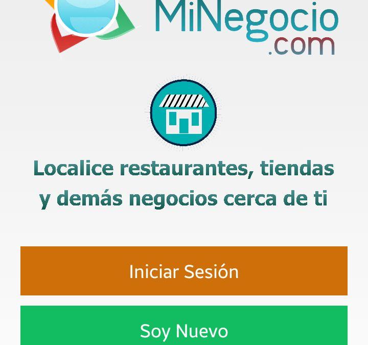 App Localice MiNegocio – Version 8