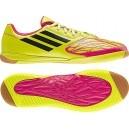 Zapatilla Adidas Freefootball SpeedTrick Lima-Rosa. Combinan velocidad y control en el partido. Consiguelas aqui: http://www.deportesmena.com/botas-futbol-sala-adidas#