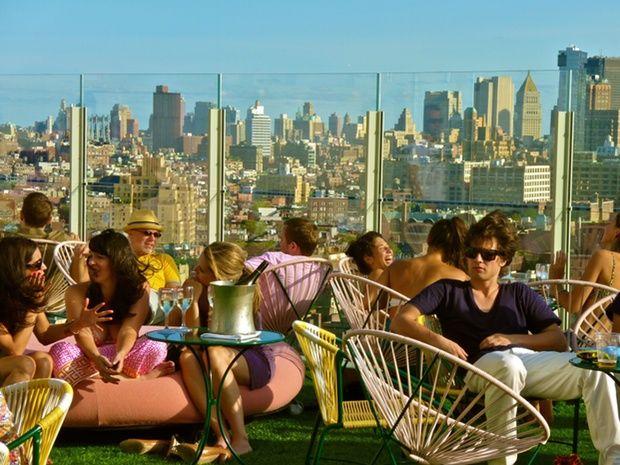 Os mais badalados 'rooftops' de Nova York - Le Bain, The Standard Hotel NYC