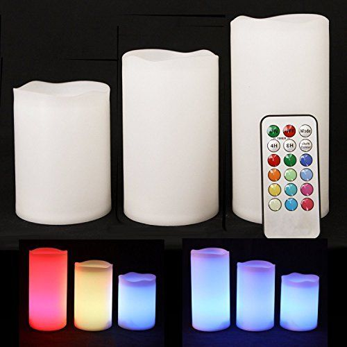 ALED LIGHT Electric Flameless Candles Set Led Color Changing Battery Operated Candles Multi Function Remote Control with Timer Romantic Safe Indoor Candle This remains a top choice sitting right up there with the most popular items bought online in Lighting category in Canada. Click below to see its Availability and Price in YOUR country.