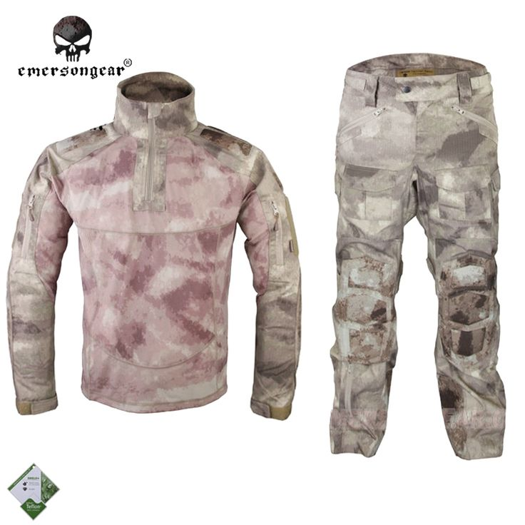 121.30$  Buy here - http://alidxl.worldwells.pw/go.php?t=32215461757 - Emersongear All-Weather Tactical Uniform Suit Anti-riot Set Camouflage Airsoft Uniform Combat Shirt & Pants EM6894A A-TACS 121.30$