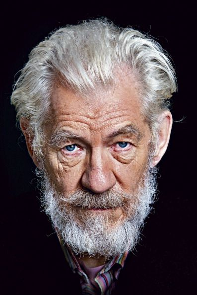Ian McKellen in a promotional photo of the production of King Lear by The Royal Shakespeare Theatre Company (2007)