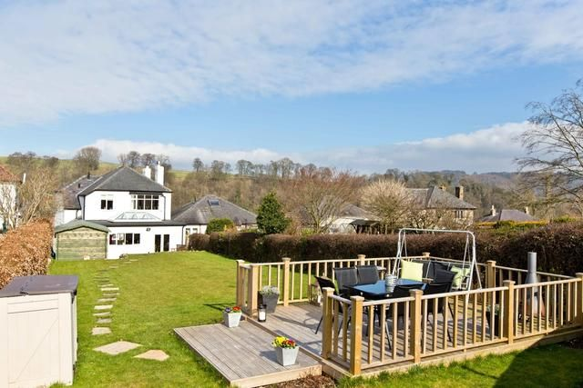 Large Enclosed Garden With Far Reaching Views To The Rear And Decked Terrace For Al Freso Dining Fairfield House Large Holiday Homes Holiday Home