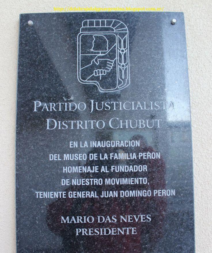 DE LA BRUJULA AL GPS - ARGENTINA   Museo de la Familia Perón convierte a Camarones en...   http://delabrujulalgpsargentina.blogspot.com.ar/2014/03/chubut-museo-de-la-familia-peron.html