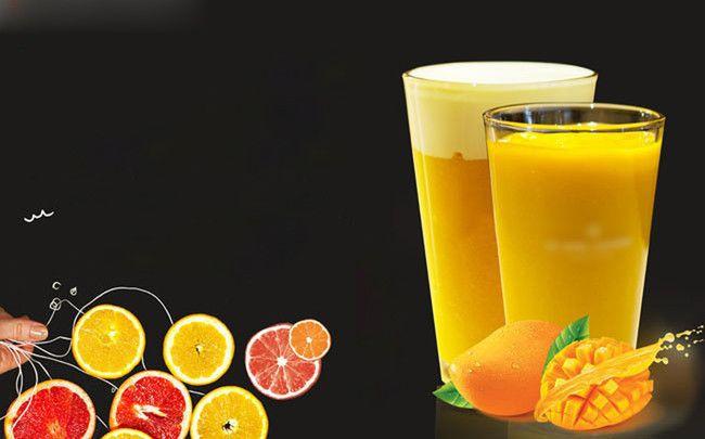 عصائر صيفية فلم الخلفية Summer Juice Juice Glass Of Milk