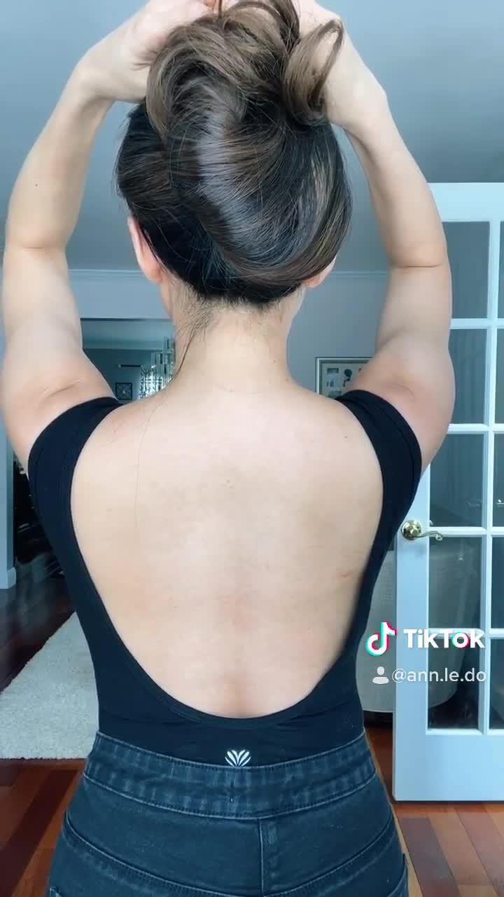 Video Tiktok Beautiful Hair Challenge Rambut Panjang Rambut Keriting