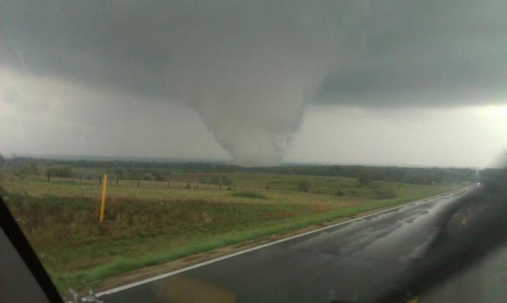 Big tornado.