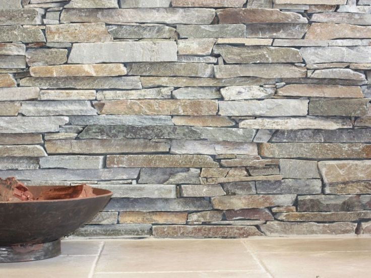 Close up of Eco Outdoor Baw Baw drystone walling. | Eco Outdoor | Baw Baw drystone walling | livelifeoutdoors | Stone Interiors | Natural stone walling | Garden design | Outdoor paving | Outdoor design inspiration | Outdoor style | Outdoor ideas | Luxury homes | Paving ideas | Garden ideas | Stone veneer | Stone walling | Stone wall cladding | feature wall