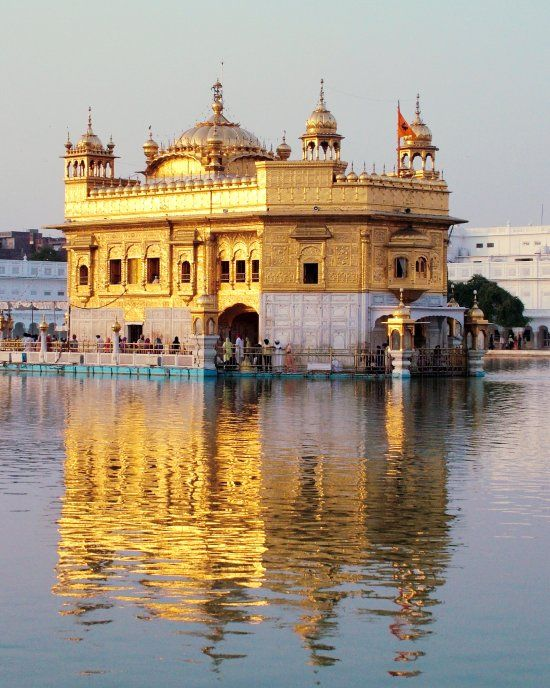 The Golden Temple , Amritsar: Places To Visit, Amritsar Golden, Famous Landmarks, Golden Temples, Attraction Places, Travel Dreams, Beautiful Places, Incr India, Travel Guide