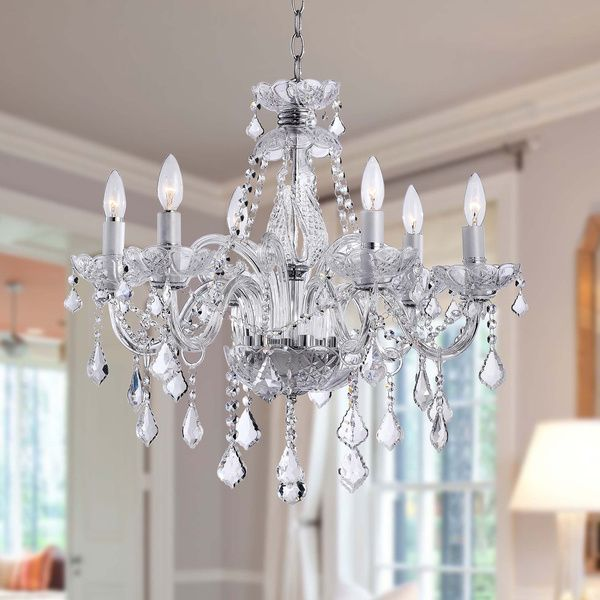 Maria Theresa 6 Light Crystal Chandelier Com 254