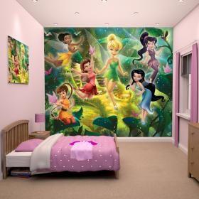 Παιδική Θεματική Ταπετσαρία Disney Fairies
