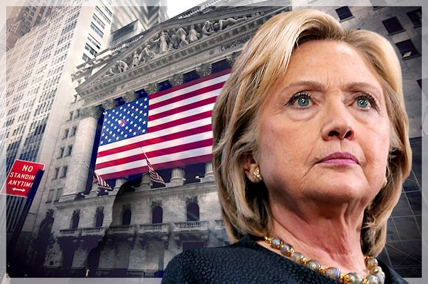 Wall Street has raised $23 million for Clinton, reports the WSJ. Many who backed Rubio and Bush now support Hillary