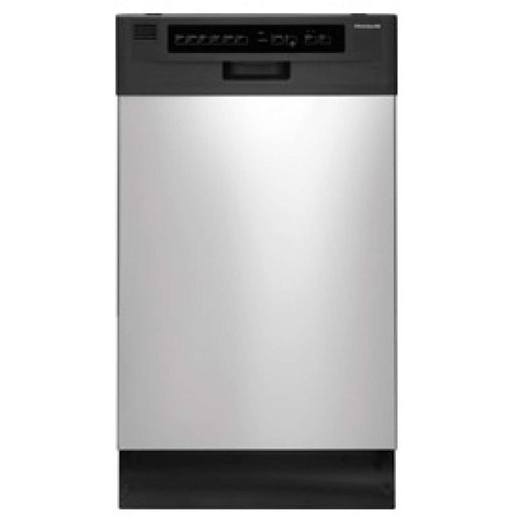 """18"""" Stainless Steel Full Console Dishwasher - Energy Star"""