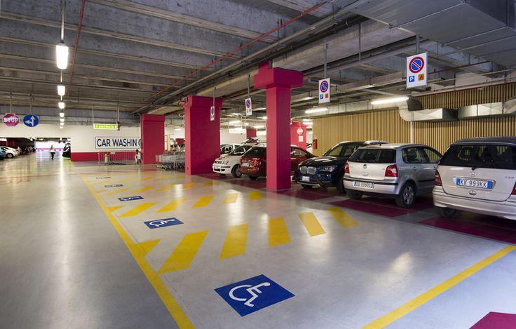 https://flic.kr/p/obFNVF | Centro Sarca - restyling parcheggi e lobby di ingresso