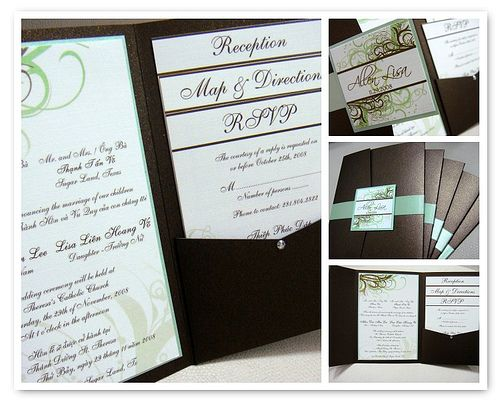 Vietnamese Wedding Invitations By Jonathan Vo, Via Flickr