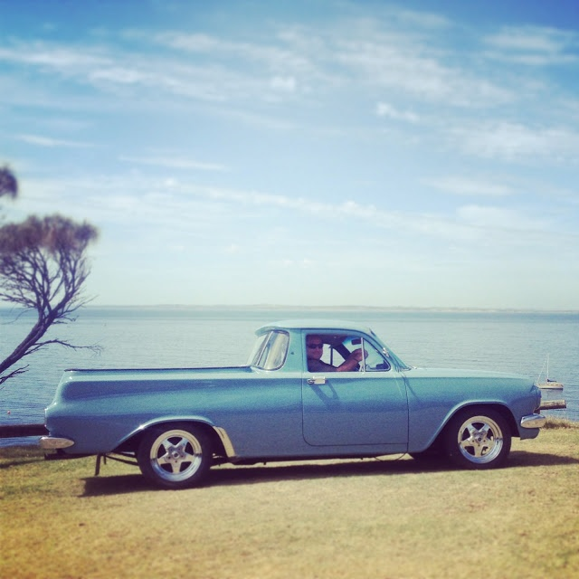An awesome Holden wagon / ute.