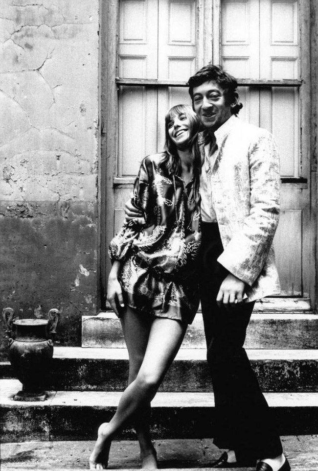 Giancarlo Botti, Serge Gainsbourg and Jane Birkin
